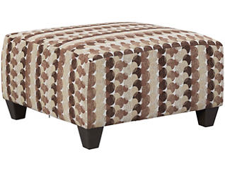 Albany Cocktail Ottoman, Chestnut, large