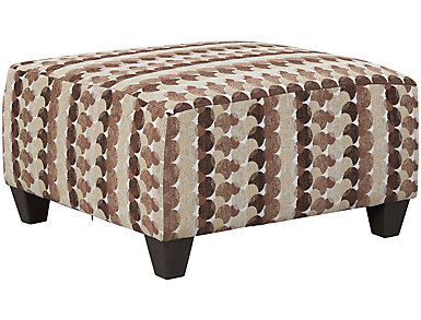 Albany Truffle Cocktail Ottoman, Chestnut, large