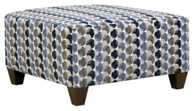 Albany Cocktail Ottoman, Slate, swatch