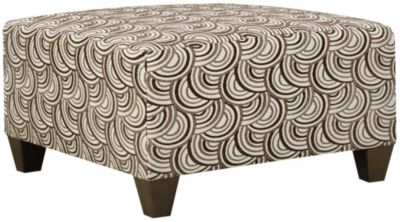 Albany Cocktail Ottoman, Truffle, swatch
