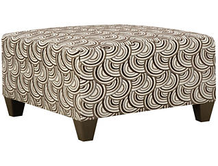 Albany Cocktail Ottoman, Truffle, Truffle, large