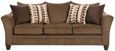 Albany Queen Sleeper, Chestnut, swatch