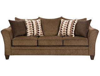 Albany Queen Sleeper, Chestnut, large