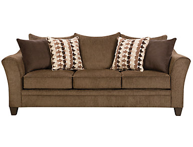 Albany Chestnut Queen Sleeper Sofa