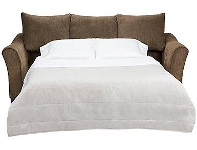 Albany Chestnut Queen Sleeper Sofa, Chestnut, large
