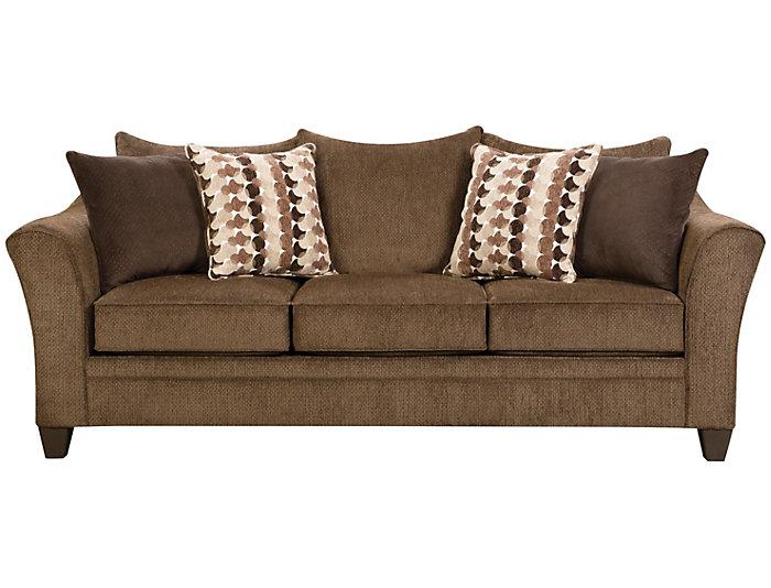 Albany Sofa, Chestnut