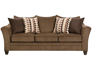 Albany Sofa, Chestnut, large