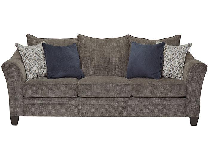 Albany Slate Sofa Grey Large