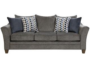 Albany Sofa, Slate, large