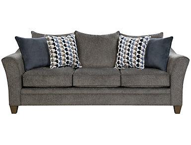 Albany Truffle Sofa, Slate, large