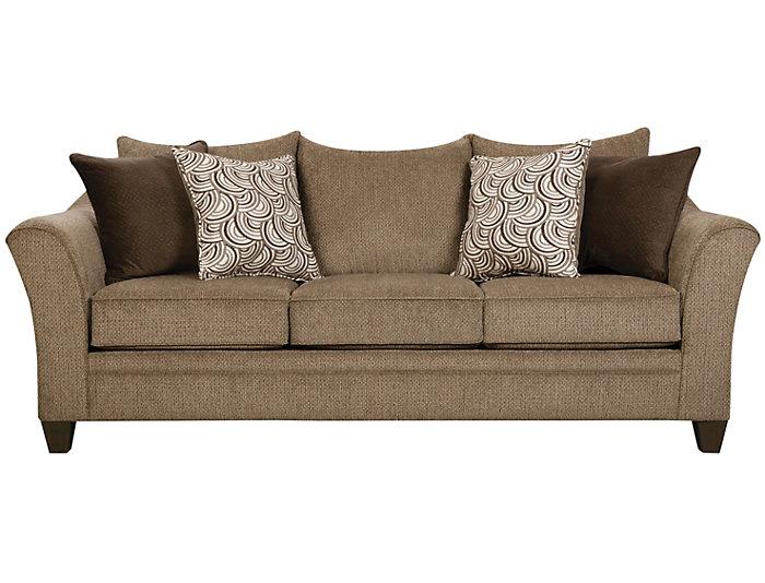 Albany Sofa, Truffle, Truffle, large