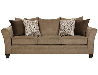Albany Truffle Sofa, Truffle, large
