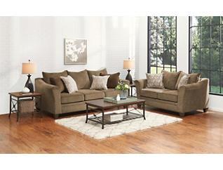 Albany Sofa, Truffle, large