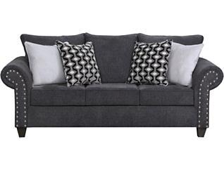 Metro Charcoal Sofa, , large