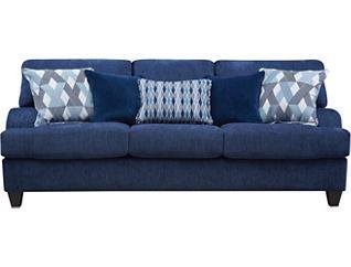Tribeca Sapphire Sofa, , large