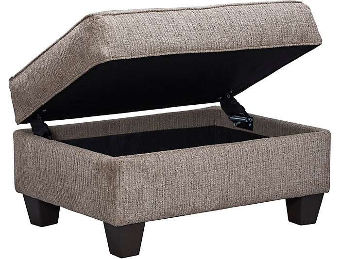 Prime Reed Tan Storage Ottoman Outlet At Art Van Caraccident5 Cool Chair Designs And Ideas Caraccident5Info
