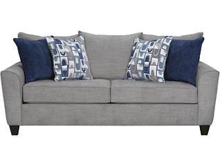 Reed Grey Queen Sleeper Sofa, , large
