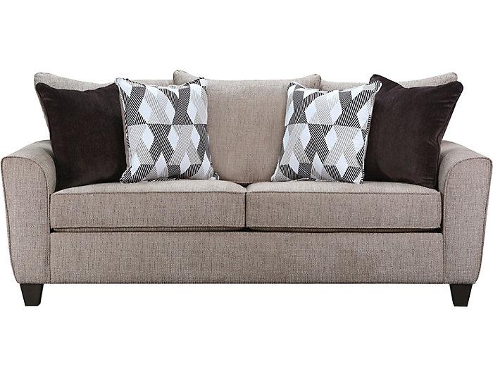 Etonnant Reed Tan Queen Sleeper Sofa