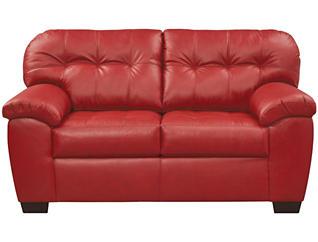 Soho II Loveseat, Red, large