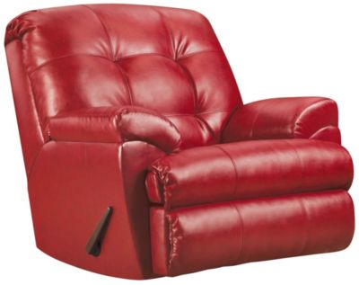 Soho II Recliner, Red, swatch