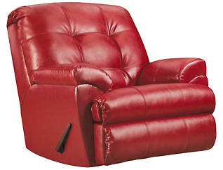 Soho II Recliner, Red, large