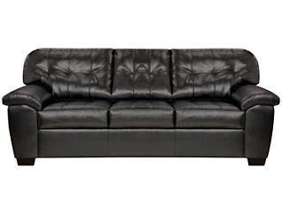 Soho II Sofa, Onyx, large