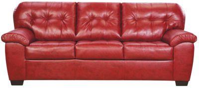 Soho II Sofa, Red, swatch