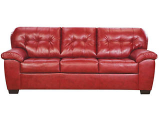 Soho II Sofa, Red, large