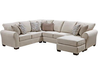 Harlow Linen 8 Piece Living Room Package, , large