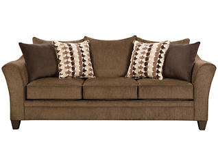 Albany Chestnut 8 Piece Living Room Package, , large