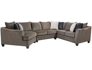 Albany Pewter 9 Piece Living Room Package, , large