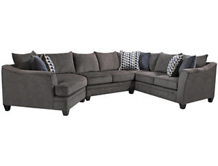 Albany Slate 9 Piece Living Room Package, , large