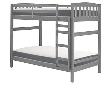 Bunkbed with 2 Twin Mattress, , large