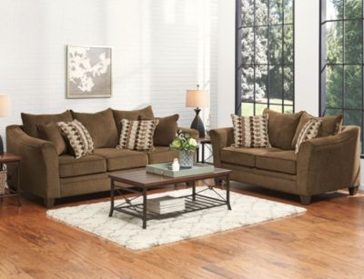 Albany 7 Piece Room Package, Chestnut, swatch