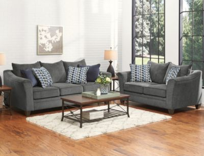 Albany 7 Piece Room Package, Slate, swatch