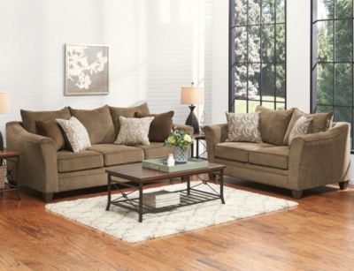 Albany 7 Piece Room Package, Truffle, swatch