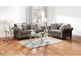 Metro Char 7PC Room Package, , large