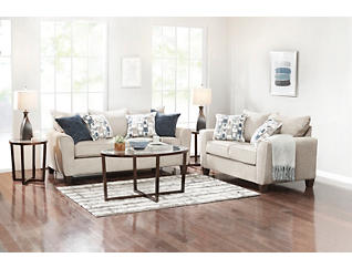 Reed Grey 7PC Room Package, , large