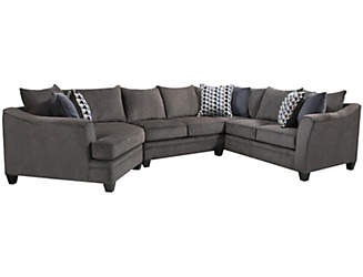 Albany Slate 3PC Sectional