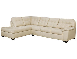 Soho II 2-Piece Left-Arm Facing Bump Chaise Sectional, Pearl, , large
