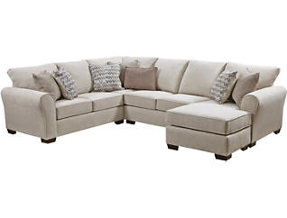 Harlow 2 Piece Sectional, Multi, large