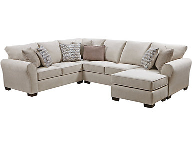 Harlow Ash 2 Piece Sectional, Multi, large