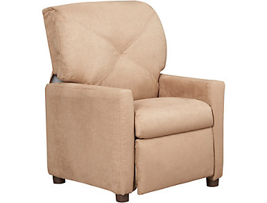 Kiddie Recliner, Latte, , large