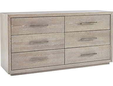 NB2 Casual Modern 6 Drawer Dresser, , large