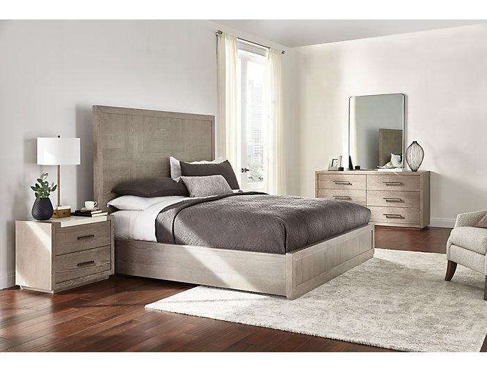 NB2 Casual Modern 6 Drawer Dresser, , large