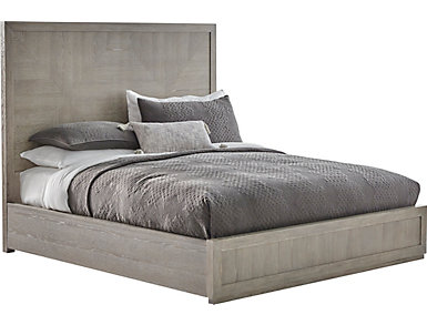 NB2 Casual Modern King Panel Bed, , large