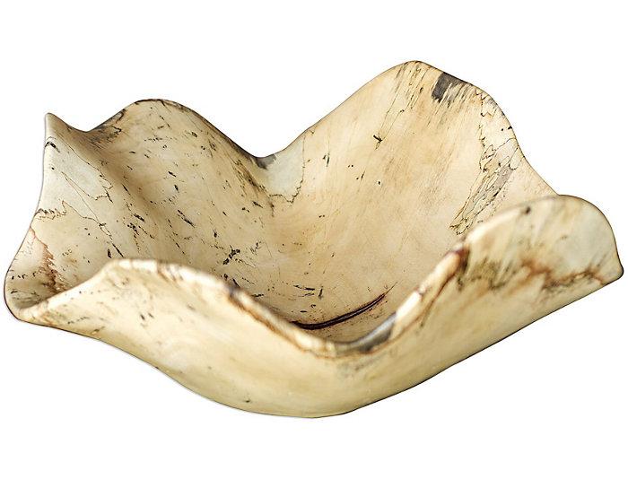 Tamarine Natural Wood Bowl, , large