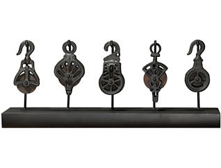 Pulley System Tabletop Statue, , large