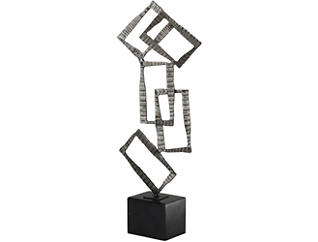 Talal Sculpture in Nickel Fin, , large