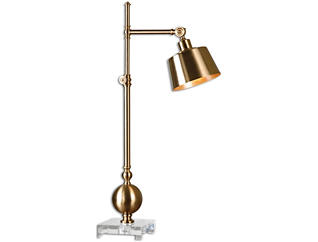 Laton BrassTask Table Lamp, , large